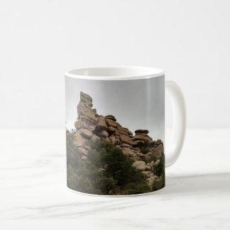 Felsformation-New Mexiko Kaffeetasse