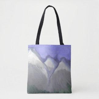 Felsige Berge Colorados (abstrakter Watercolor) Tasche