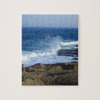 Felsige Kap Neddick Küste Puzzle