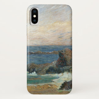 Felsige Küste durch Paul Gauguin, Vintager iPhone X Hülle
