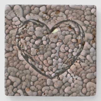 Felsige Liebe Steinuntersetzer