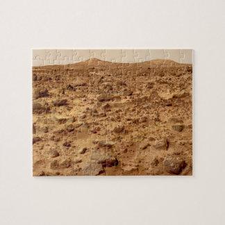 Felsige Oberfläche der Planeten-Mars Puzzle