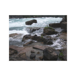 Felsige Rapids an Niagara- FallsLeinwand Leinwanddruck