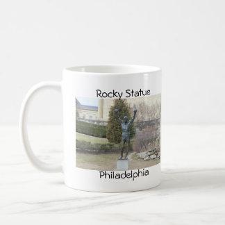 Felsige Statue Philadelphia Kaffeetasse