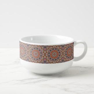 Felsige Straßen-Kaleidoskop-   Suppen-Tassen Große Suppentasse