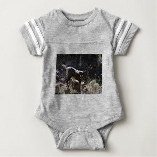 Felsiger GebirgsBighorn-Schafe, Mutterschaf Baby Strampler