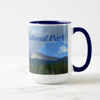 Felsiger Gebirgsnationalpark-Keramik-Tasse Tasse