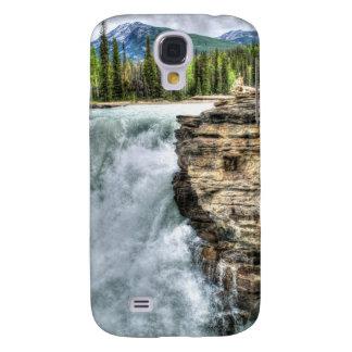 Felsiger Gebirgswasserfall-Natur-Foto Galaxy S4 Hülle