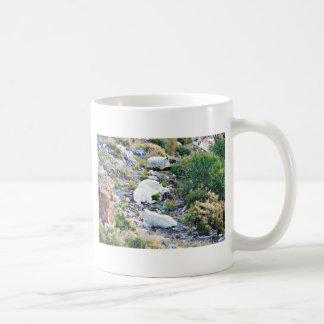 Felsiger Gebirgsziegen Kaffeetasse