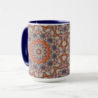 Felsiges Straßen-Vintages Kaleidoskop-kombinierte Tasse