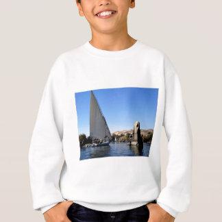 Felucca Segeln auf dem Nil in Ägypten-Bild Sweatshirt