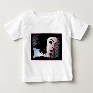 Fem-Gesicht 1 Baby T-shirt
