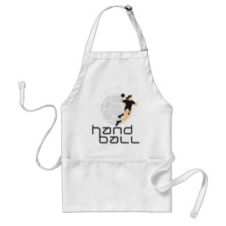 female handball schürze