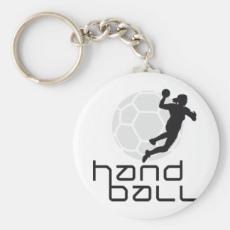 female handball standard runder schlüsselanhänger