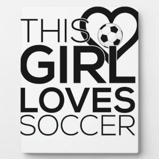female_soccer fotoplatte