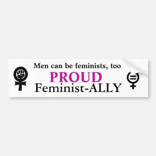 Feminismus Auto Aufkleber