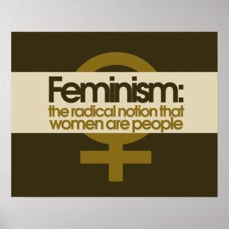 Feminismus Posterdruck