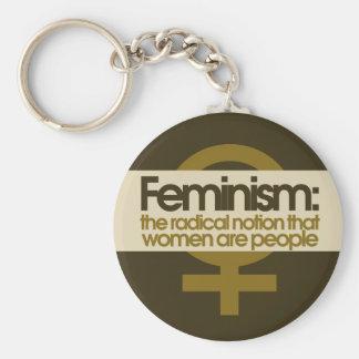 Feminismus Schlüsselanhänger