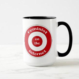 Feminist auf dem Internet (Ziel) Tasse