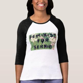 Feminist für Bernie-Sandpapierschleifmaschinen T-Shirt