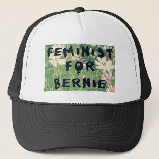 Feminist für Bernie-Sandpapierschleifmaschinen Truckerkappe