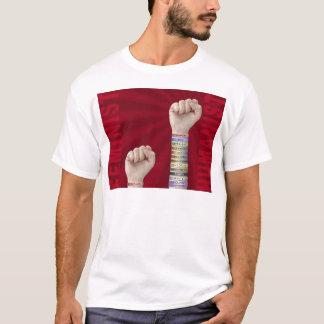Feminist gegen Humanisten T-Shirt