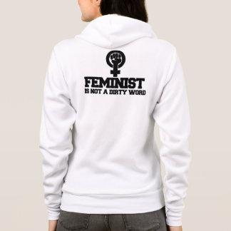 Feminist ist nicht ein Schimpfwort Hoodie