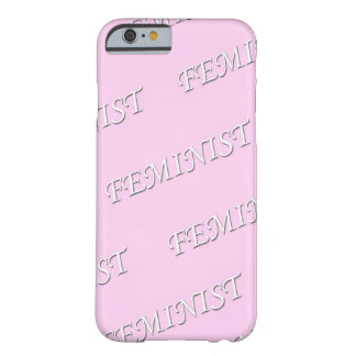 Feminista iphone Fall Barely There iPhone 6 Hülle