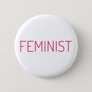Feministisch Runder Button 5,1 Cm