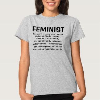 Feministisch - weil Frauen noch… Shirt sind