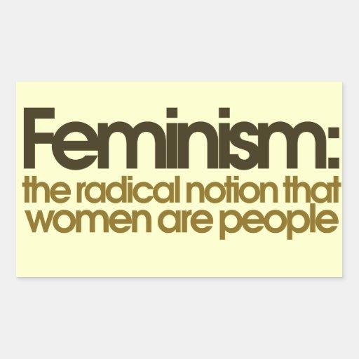 Feministische Definition Sticker