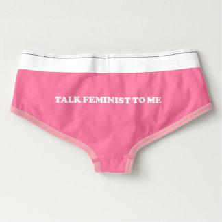 Feministische Unterwäsche