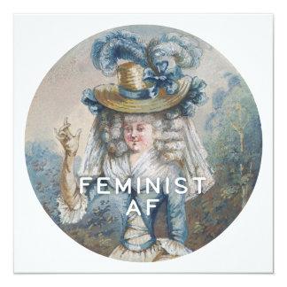 Feministischer AF Karte