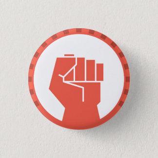 feministischer angehobener runder Knopf der Faust Runder Button 2,5 Cm