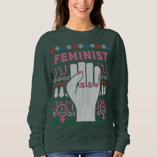 Feministischer Power-hässliches Sweatshirt