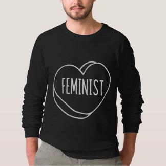 Feministisches Herz Sweatshirt