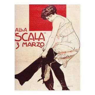 Feministisches Wiedersehen der sozialistischen Postkarte