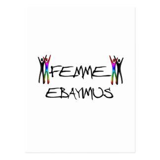 Femme Ebayimus Postkarte