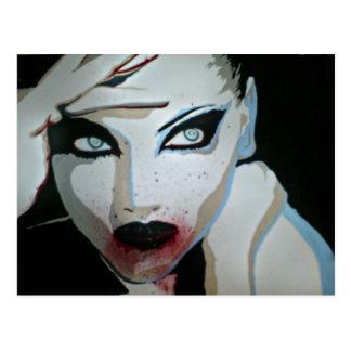 """Femme Fatale"" Postkarte"