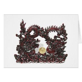Feng Shui Drache u. Phoenix Karte