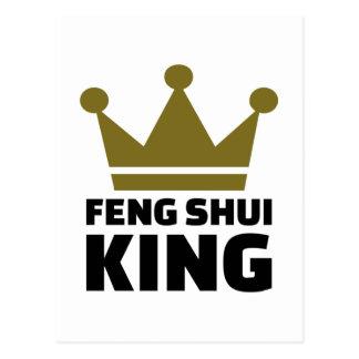 Feng shui König Postkarte