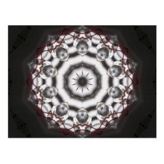 Feng Shui Kristallpostkarte - Kaleidoskop Postkarte