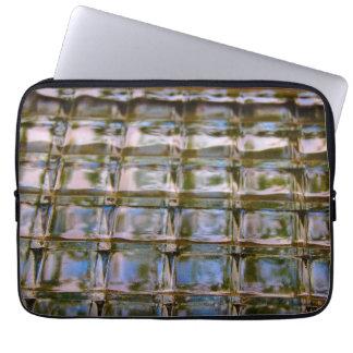 Fenster-Block-Muster-Fall Laptopschutzhülle