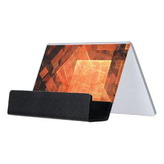 Fenster-helle abstrakte Kunst Schreibtisch-Visitenkartenhalter