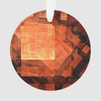 Fenster-heller abstrakter Kunst-Acryl-Kreis Ornament