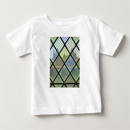 Fenster-Kunst Baby T-shirt
