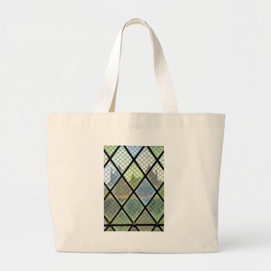 Fenster-Kunst Jumbo Stoffbeutel