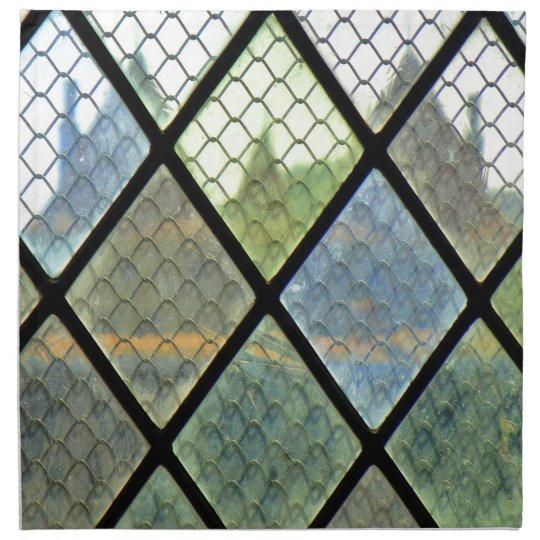 Fenster-Kunst Stoffserviette