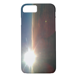 Fenster-Seat-Sonnenuntergangtelefonkasten iPhone 8/7 Hülle