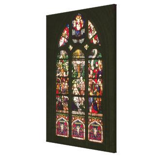 Fenster, welches die Taufe von Christus, 1490 dars Gespannte Galeriedrucke